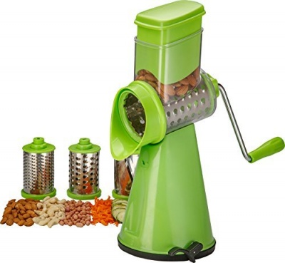 Honest Premium Plastic Juicer 3 in 1, with Rotary, Green